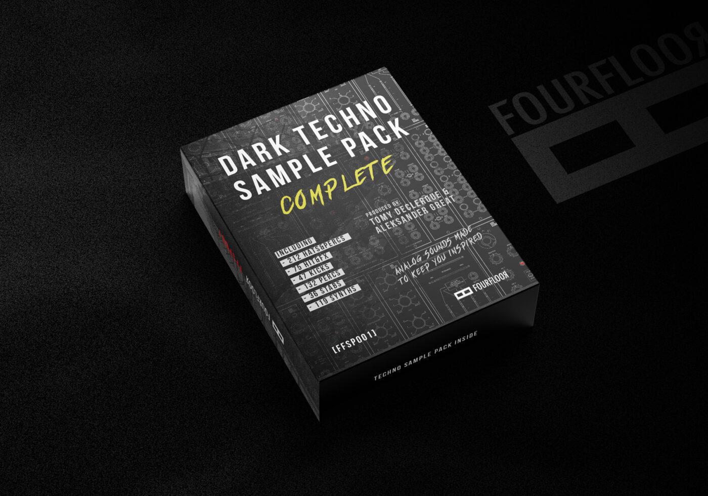 Dark Techno Sample Pack - Complete - Box